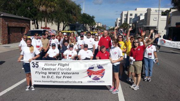 2013 Orlando Veterans Parade HFCFL 11-09-2013